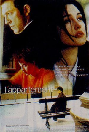 what is name Monica Bellucci in L'Appartement movie ?