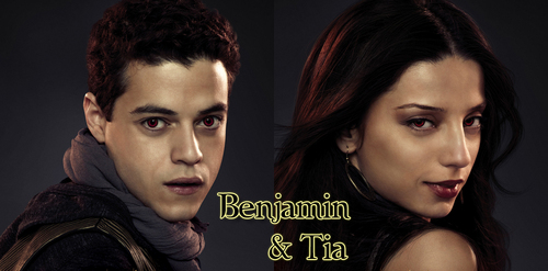 Who plays Benjamin and Tia