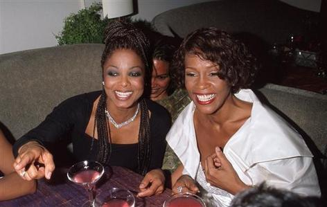 Who is this lady in the photograph with Janet Jackson