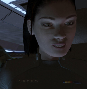 Who is the voice of Miranda Keyes in Halo 2?