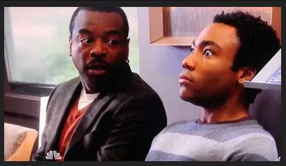 Why does Troy cry after meeting LeVar burton in the episode Intermediate Documentary Filmmaking?