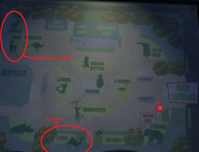 True/False: There is a habitat missing from this map. (Please forgive the circled things, this was the only pic I could find. :3)