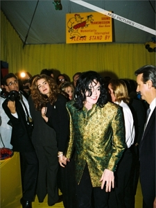 Michael and Brooke Shields were in attendance at a Grammys afterparty, which was held in his honor, back in 1993