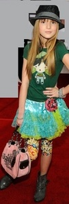 Bella Thorne at the premiere of...