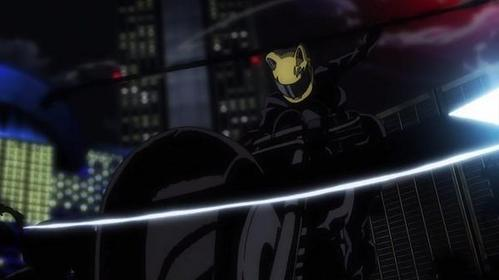 what is the name of celty's horse/motorcycle?
