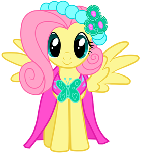 Where did Fluttershy wear this outfit?