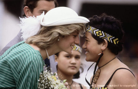 Michael was also a huge admirer of Princess Diana