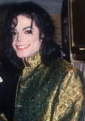 "This photograph of Michael is from the ""Dangerous"" era"