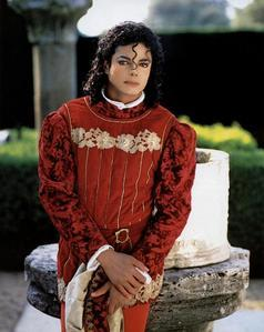 "This photograph of Michael was taken during the ""Bad"" era"
