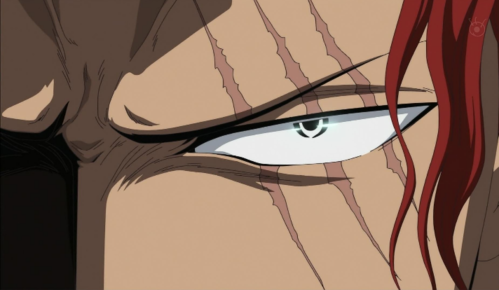 Who gave Shanks his three scars across his left eye?