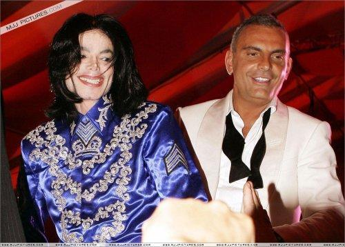 Michael was in attendance at Christian Audigier's birthday party back in 2008