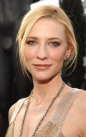 Where did she play young version of Cate Blanchett?