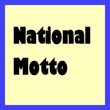 """""""We wish to remain what we are"""" - National motto of ?"""