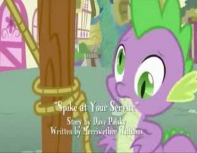 did spike go like that? (at spike at your service)