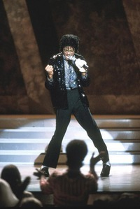 "This photograph of Michael's live performance of ""Billie Jean"" was taken back in 1983"