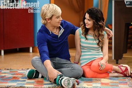 What does Ally tell Trish about Austin?