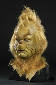 "How Much Did The ""Grinch"" Makeup Face cast auctioned for at Heritage Auction Gallorie's on Dec 11th, 2008?"