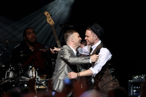 Which Take That song did Olly sing with Gary Barlow at The Royal Albert Hall?.