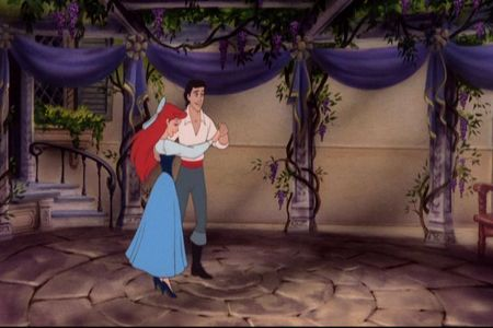 What did Ariel do in this scene with Eric & What is this scene??