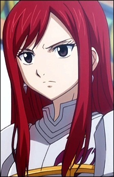 What is the name of the type of magic Erza Scarlet uses to change her armor?