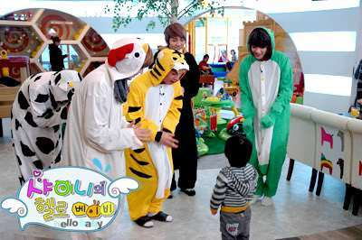 The cause of Onew's phobia on kids (or taking care of them)