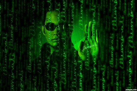 With which characters do you play in Enter the Matrix (PlayStation 2, Xbox, GameCube)?