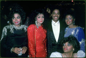 "This photo of Janet and her family was taken somewhere during the ""'80's"""