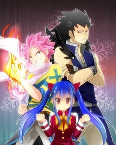 what type of magic do natsu, wendy and gajeel use?