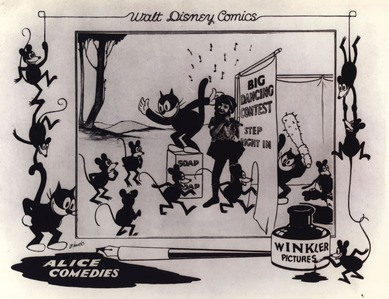 Beginning in 1923, Walt Disney produced a series called the Alice Comedies. How many Alice Comedies were produced over the years?
