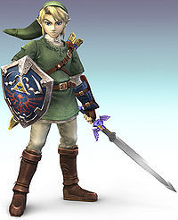 Who did Link's voice in Twilight Princess and Super Smash Bros. Brawl?