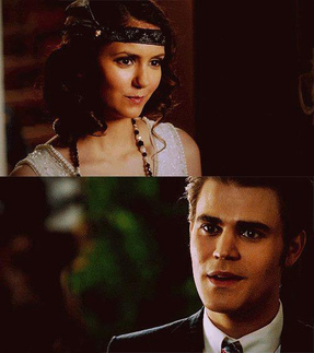 Elena: u look very dapper. What answered Stefan?
