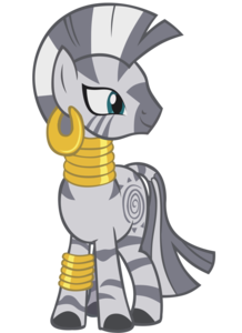 Who voiced Zecora?