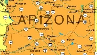 "In ""Arizona,"" why did Katie and her boyfriend go to Arizona?"