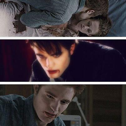 How many times do we see Edward bite Bella in BD part 1?