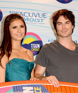 Both Ian & Nina were nominated for Choice TV Actor/Actress - Fantasy/Sci-Fi at the 2012 Teen Choice Awards: