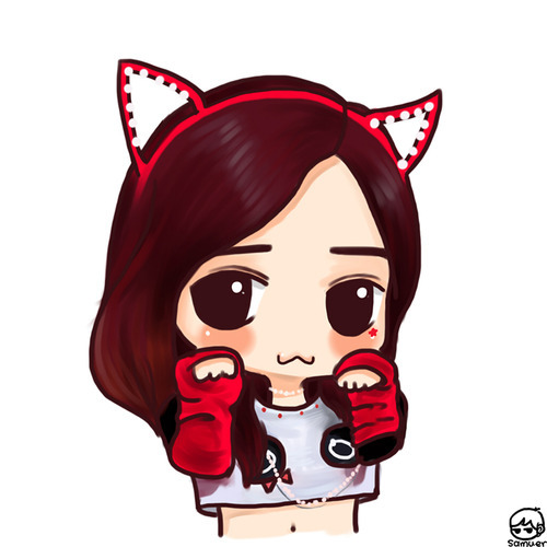 Who is that girl in this chibi?