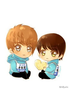In this chibi is...? - The kpop 4ever Trivia Quiz - Fanpop