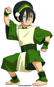 who is toph s mother ?