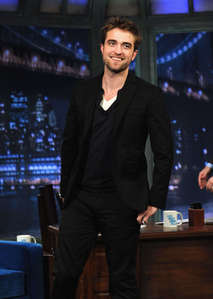 Rob on which late night talk show?