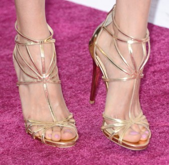 Where did Nina wear these shoes?