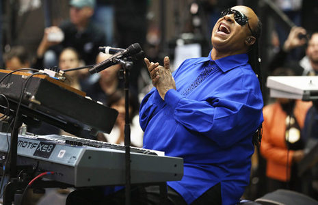 "Stevie Wonder was a featured vocalist in the 1985 video, ""We Are The World"""
