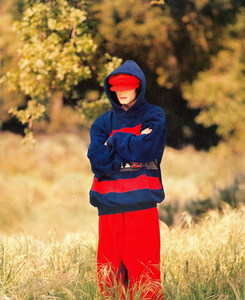 "This Foto of Michael was taken at his 1995 ""VIBE"" magazine photoshoot"