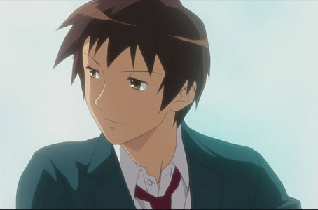True/ False: All episodes are shown through only Kyon's perspective.-