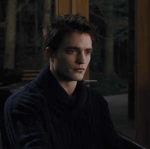 What is Edward looking at?