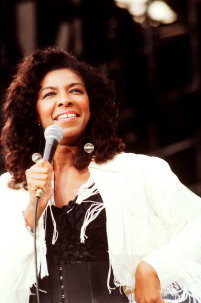 What television series did Natalie Cole make her acting debut back in 1993