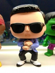 Who bought a figurine of PSY?