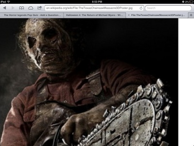 What relative does leatherface have in texas chainsaw massacre 3d