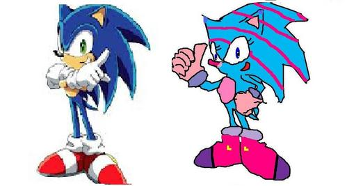Mollie and Sonic are related in what way?