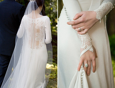 7606a581cfc Which designer made Bella s wedding dress  - The Twilight Saga ...
