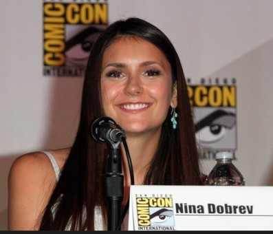 Nina Dobrev at Comic-Con ___